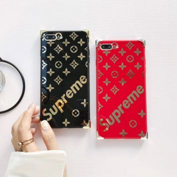 The New Supreme Print Iphone X/8 8 Plus/7 7 Plus Cover Case