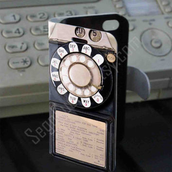Payphone PVC (syntetic) Leather Folio Case for iPhone and Samsung Galaxy