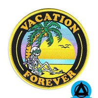 Vacation Forever Island Patch