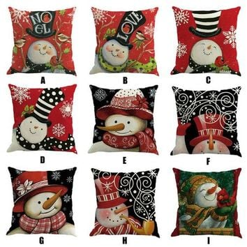 Country Gift Collection - Christmas Throw Pillow - Multiple Designs