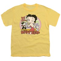 Betty Boop - Kiss Short Sleeve Youth 18/1