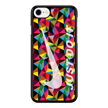Nike Just Do It Geometrick iPhone 8 Case