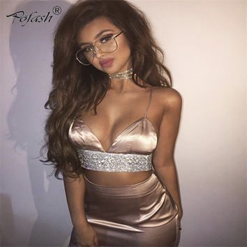 Newest Summer Clothes Sexy Strap Backless  Women Dress 3 Color Night Club Wear Deep V Neck High Waist Above Knee White Dresses
