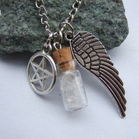 Supernatural Protection Angel Wing Necklace