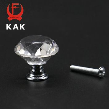Crystal Glass Cabinet/Drawer Knobs