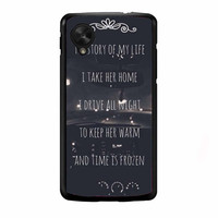 One Direction Story Lyric FOR NEXUS 5 CASE *NP*
