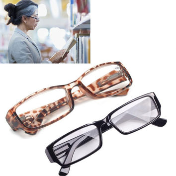 Ultra-light Reading Glasses for Men Women Presbyopic Glasses gafas de lectura oculos de grau Black/Leopard Glasses for Parents