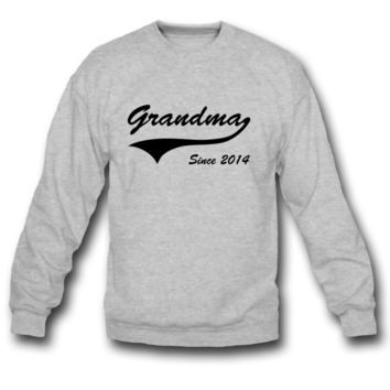 grandma since 2014 sweatshirt
