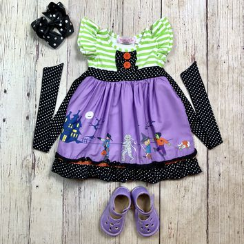 "RTS Madeline Kate ""Halloween Parade"" Dress D1"