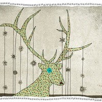 deer by aliette on Etsy