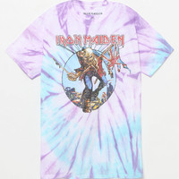 Iron Maiden Trooper Tie Dye T-Shirt at PacSun.com