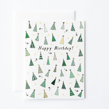 Birthday Hats Card