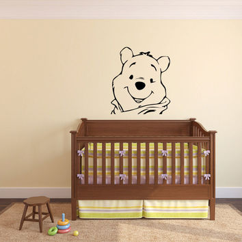 Whinnie the Pooh Bear Wall Decal Sticker Graphic