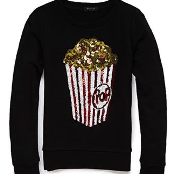 Sparkle Power Popcorn Sweatshirt (Kids)