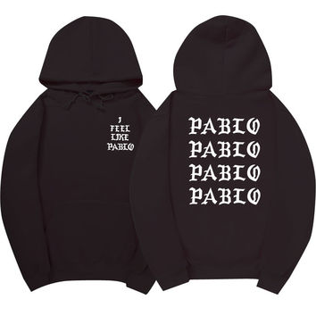 I Feel Like Pablo Black Hoodie