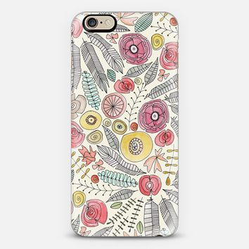 feather fleur watercolor iPhone 6s case by Sharon Turner | Casetify