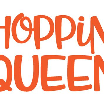 Shopping Queen Vinyl Graphic Decal