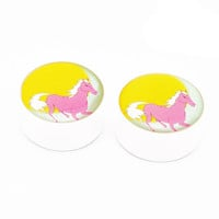 Whimsical Horse BMA Plugs (6mm-25mm)