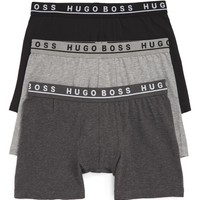 BOSS 3-Pack Stretch Cotton Boxer Briefs | Nordstrom