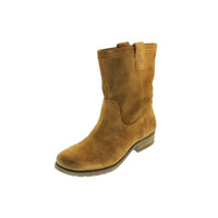 Naturalizer Womens Basha Suede Pull On Ankle Boots