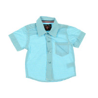 Sovereign Code Baby Boys Gingham Short Sleeves Button-Down Shirt