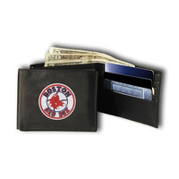 Boston Red Sox MLB Embroidered Billfold Wallet