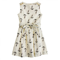 Girls' candy anchor dress - AllProducts - sale - J.Crew