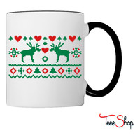 Embroidery Christmas Coffee & Tea Mug