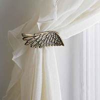 Plum & Bow Wing Curtain Tie-Back