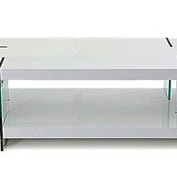 Modrest MA-TI - Modern White Lacquered Coffee Table