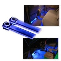 Wisedeal 4in1 12V Car Auto Interior LED Atmosphere Lights Floor Decoration Lamp Blue:Amazon:Automotive