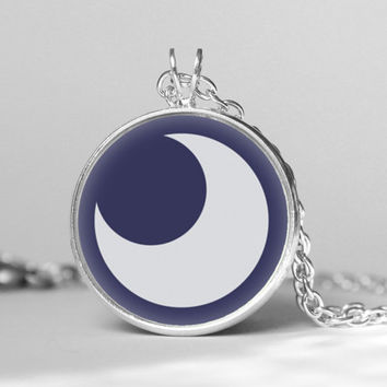 My little pony Princess Luna cutie mark MLP pendent necklace,gift girlfriend boyfriend gift