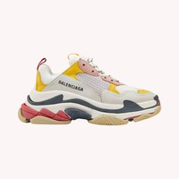 Triple S leather sneakers