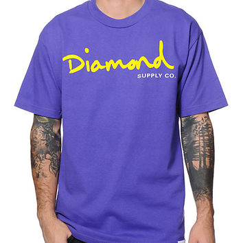 Diamond Supply Company Script Shirt