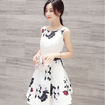 IN THE LONG PARAGRAPH SLEEVELESS VEST SKIRT A WORD SKIRT