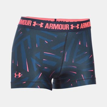 Women's UA HeatGear® Armour Printed Shorty | Under Armour US