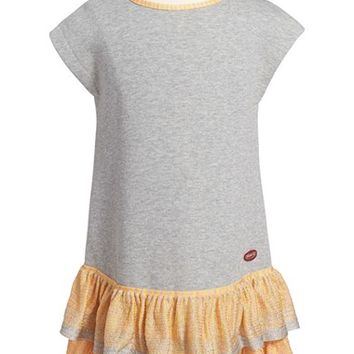 Toddler Girl's Missoni Metallic Ruffle Sleeveless Dress,