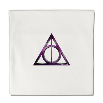 "Magic Symbol Micro Fleece 14""x14"" Pillow Sham"