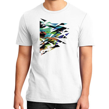 Abstract art District T-Shirt (on man)