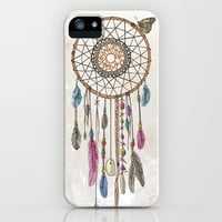Lakota (Dream Catcher) iPhone & iPod Case by Rachel Caldwell