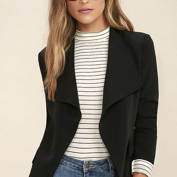 Uptown Girl Black Blazer