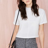 Nasty Gal Square One Top