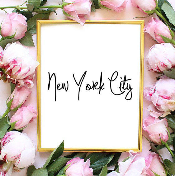New York Fashion Quote Fashion Bedroom From Angiesprints