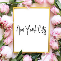 new york fashion quote fashion bedroom quote typographic print pinterest inspirational motivational tumblr room decor framed quotes teen