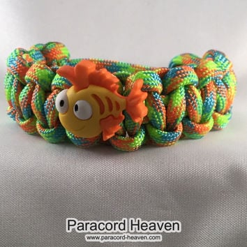 Harry the Fish - Children Paracord Heaven Survival Bracelet with Knot Closure