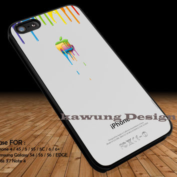 Colorful Apple Dripping iPhone 6s 6 6s+ 5c 5s Cases Samsung Galaxy s5 s6 Edge+ NOTE 5 4 3 #art DOP2230