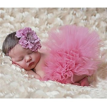 Baby Photography Props Newborn  Peacock Handmade Crochet Beanie Beaded Cap Baby Tutu Skirt with Headband  Photo Props