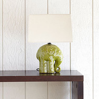 Elephant Ceramic Table Lamp | Lighting| Home Decor | World Market