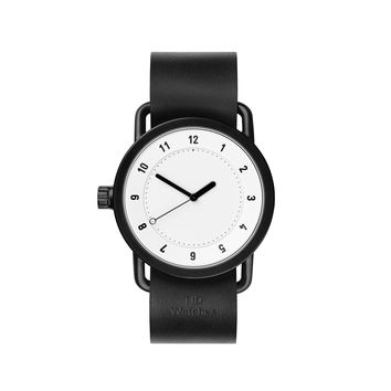 TID Watches — No.1 White Black Watch