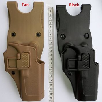 Tactical Military Serpa  Army belt holster BH CQC version of fast sinking quickly pull crackers for Glock Holster